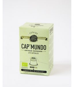 COPAIBA - BIO - CAP'MUNDO boîte de 10 Capsules compatible Nespresso