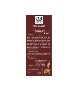 Café OKU KUMBO - CAMEROUN