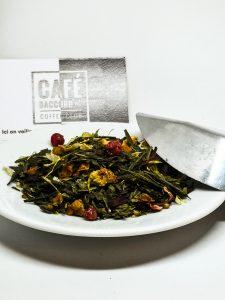 Thé vert mélange de fruits et d'herbe Potion Magique Bio